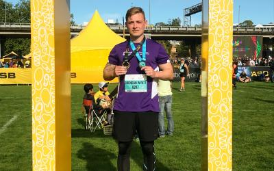 Runner Highlights – Brendan laces up for mental health!