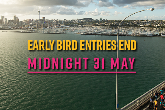 Early Bird Entries End 31 May