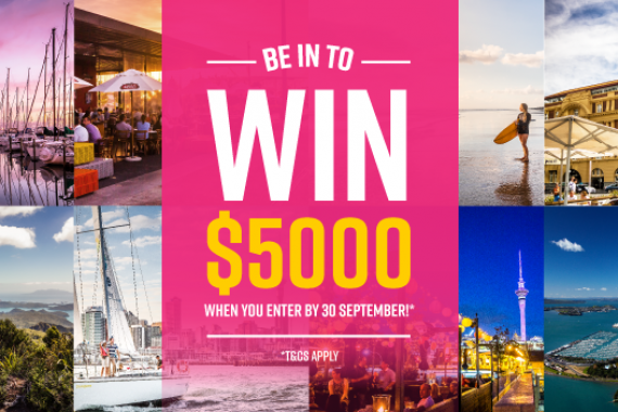 ENTER & BE INTO WIN $5000!