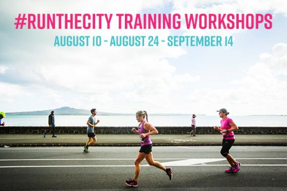 #RUNTHECITY Training Workshops