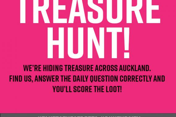ASB Auckland Marathon Treasure Hunt