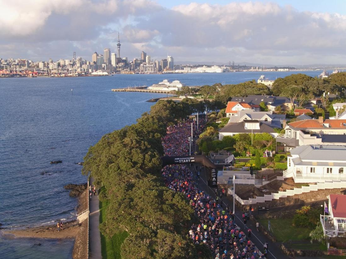 ASB AUCKLAND MARATHON NUDGES 14,000 ENTRANTS